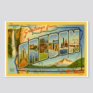 Oregon OR Postcards (Package of 8)