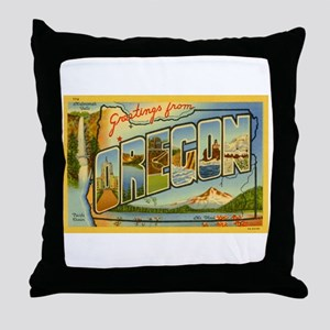 Oregon OR Throw Pillow