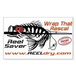 REEL Dry Over the Rod Protection Sticker