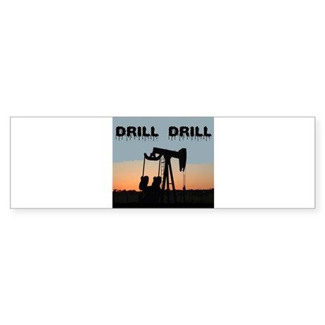 OIL WELL Bumper Sticker