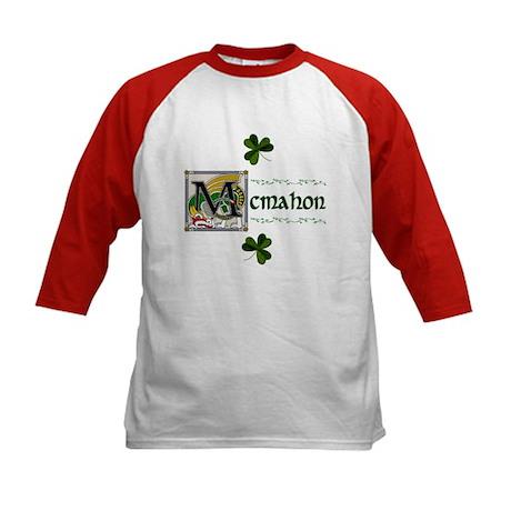 McMahon Celtic Dragon Kids Baseball Jersey