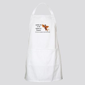 Meddle Not In The Affairs of Dragons... BBQ Apron