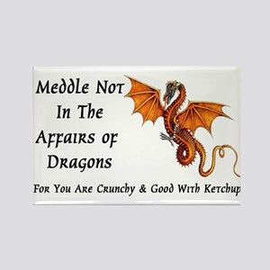Meddle Not In The Affairs of Dragons... Rectangle