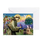 St. Francis Cairn Greeting Card
