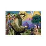 St. Francis Cairn Rectangle Magnet