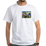 St. Francis Cairn White T-Shirt