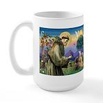 St. Francis Cairn Large Mug