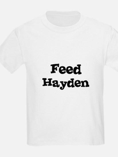 Feed Hayden Kids T-Shirt