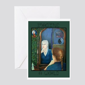 Imagine a World Greeting Card