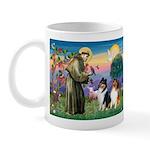 St Francis / Collie Pair Mug