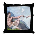 Creation/Yorkshire T Throw Pillow