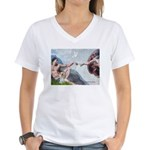 Creation/Yorkshire T Women's V-Neck T-Shirt