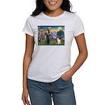 St Francis / Collie Women's T-Shirt