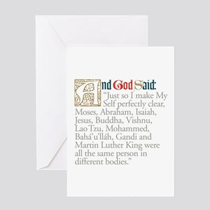 Prophets Greeting Card