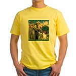 St. Francis & Collie Yellow T-Shirt