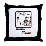 *NEW DESIGN* I MIX BUSINESS AND PLEASURE Throw Pil
