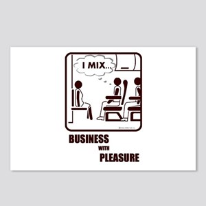 *NEW DESIGN* I MIX BUSINESS AND PLEASURE Postcards