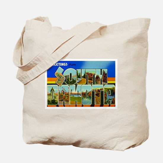 South Dakota SD Tote Bag