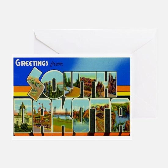 South Dakota SD Greeting Card