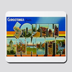South Dakota SD Mousepad