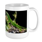Anole at Night Large Mug