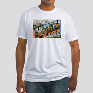 Utah UT Fitted T-Shirt