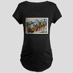 Utah UT Maternity Dark T-Shirt