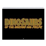 Dinosaurs 2018 12-Month Wall Calendar