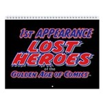 1st Appearance Lost Heroes 2018 Wall Calendar