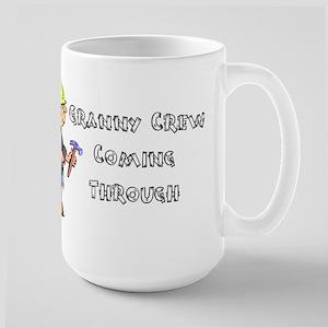 Construction Granny Large Mug