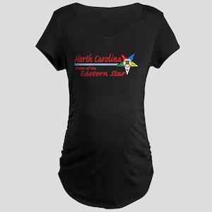 North Carolina Eastern Star Maternity Dark T-Shirt