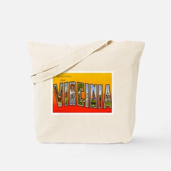 Virginia VA Tote Bag