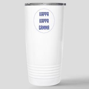 Kappa Kappa Gamma 16 oz Stainless Steel Travel Mug
