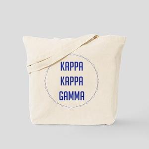 Kappa Kappa Gamma Circle Tote Bag