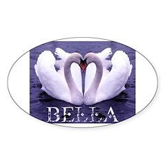 Bella Swan Oval Sticker (10 pk)
