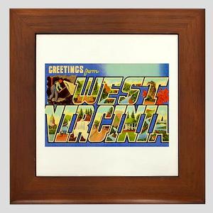 Washington WA Framed Tile