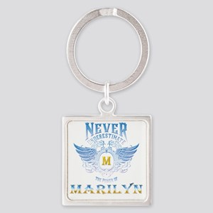 Never underestimate the power of Marilyn Keychains