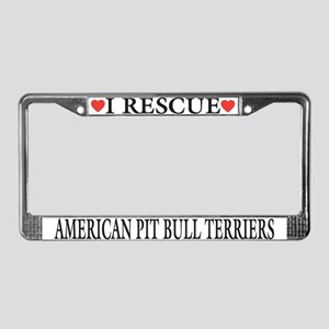 APBT Rescue License Plate Frame