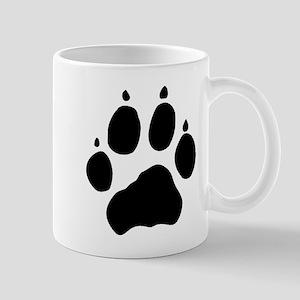 Wolf Paw Mug