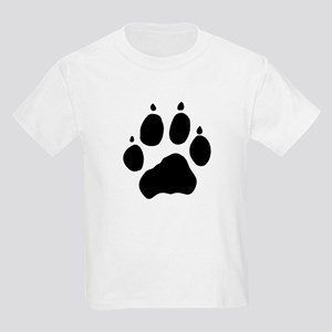 Wolf Paw Kids Light T-Shirt