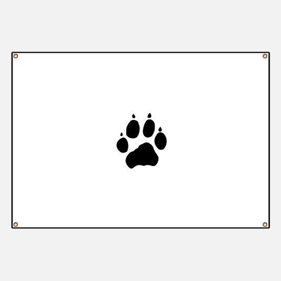 Wolf Paw Banner