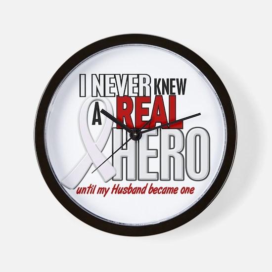 Never Knew A Hero 2 PEARL (Husband) Wall Clock