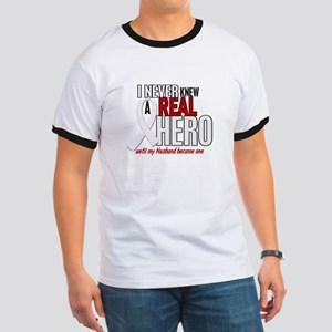 Never Knew A Hero 2 PEARL (Husband) Ringer T