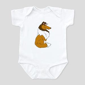 Sable Rough Collie Infant Bodysuit