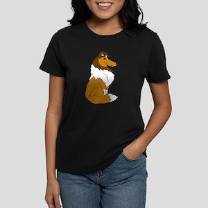 Sable Rough Collie Women's Dark T-Shirt