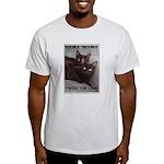 Double Trouble Ash Grey T-Shirt