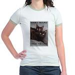 Double Trouble Jr. Ringer T-Shirt