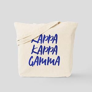 Kappa Kappa Gamma Italic Tote Bag
