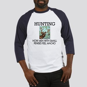 Hunting: How men... Baseball Jersey