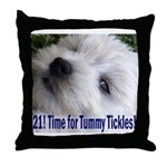 21st Birthday Gifts, Westie T Throw Pillow